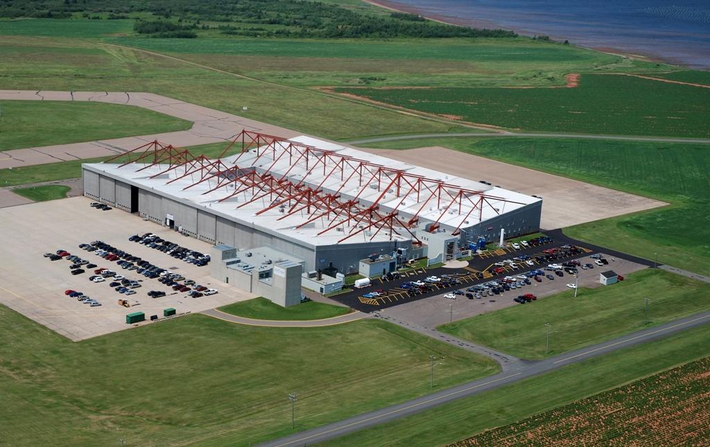 Hangar 8 Front View